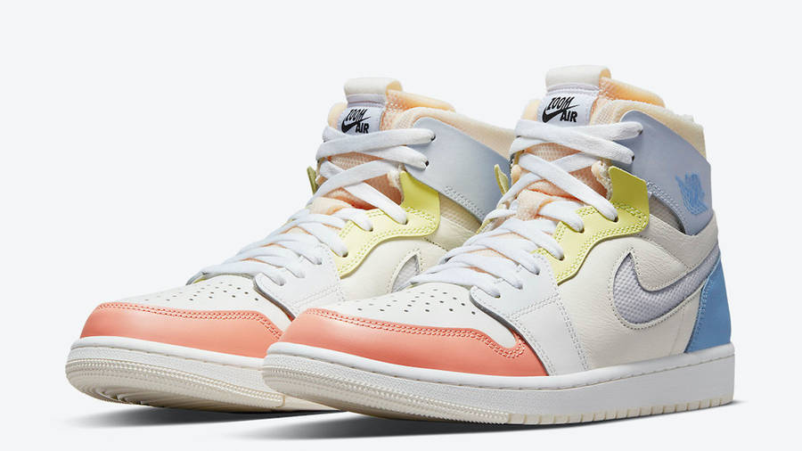 Jordan 1 Zoom Comfort To My First Coach Front