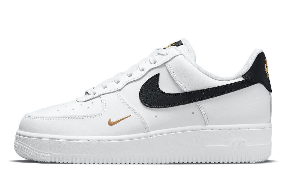 Nike Air Force 1 Low White Black Gold