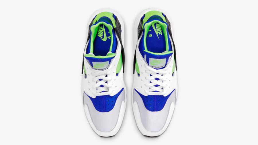 Nike Air Huarache Scream Green | Where To Buy | DD1068-100 | The ...