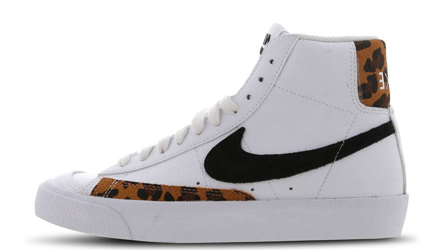 Nike Blazer Mid 77 GS Leopard White | Where To Buy | DJ4603-100 | Ietp
