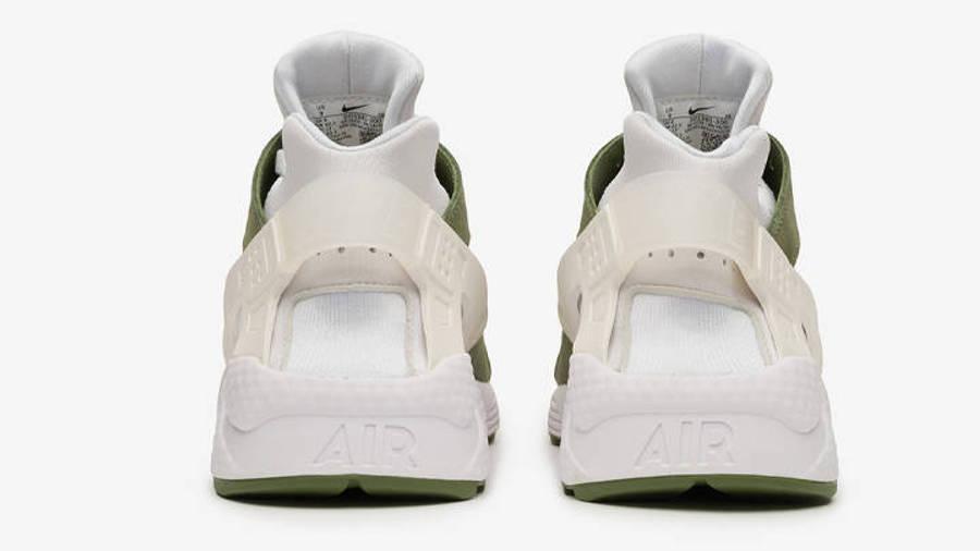 Stussy x Nike Air Huarache LE Dark Olive | Where To Buy | DD1381 ...