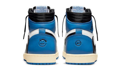 Travis Scott x Fragment x Air Jordan 1 High OG SP Military Blue DH3227-105 Back