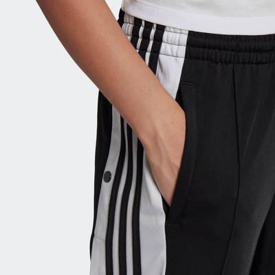 adidas Adicolor Classics Adibreak Tracksuit Bottoms Black Side Closeup