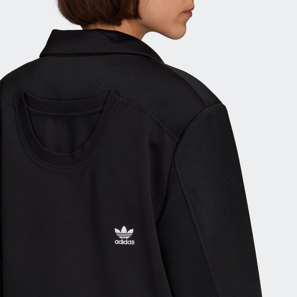 adidas Blazer Black Back Closeup