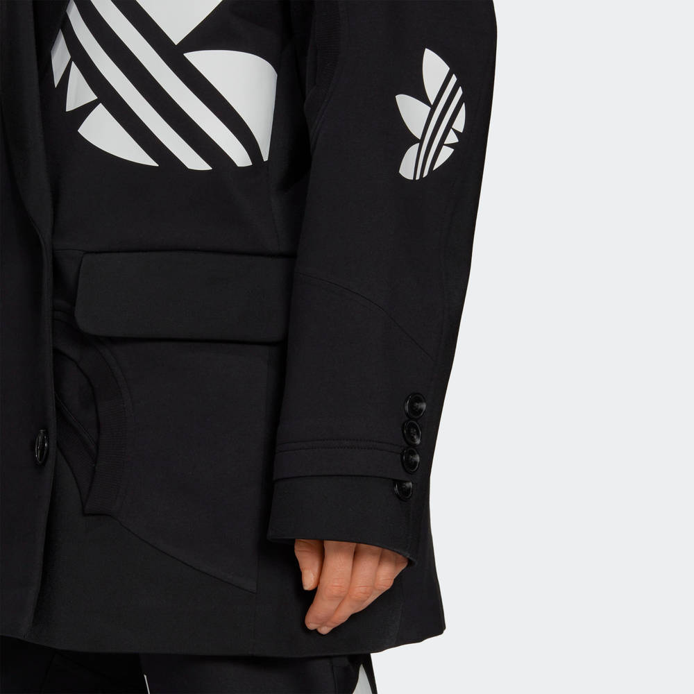 adidas Blazer Black Closeup