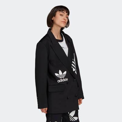 adidas Blazer Black Side