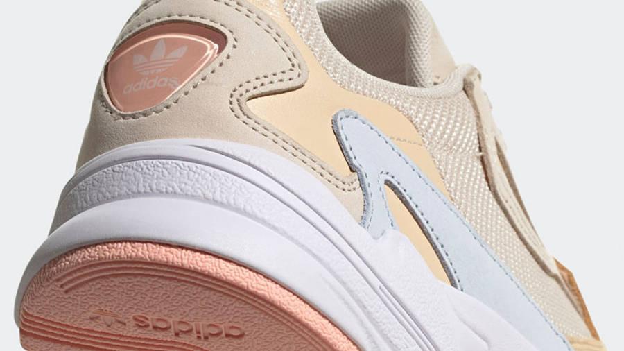 adidas Falcon Halo Ivory Closeup
