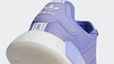 adidas NMD R1 Light Purple Closeup