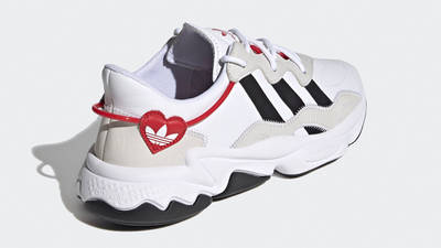 adidas Ozweego Hearts Pack Cloud White Scarlet Back