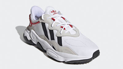 adidas Ozweego Hearts Pack Cloud White Scarlet Front