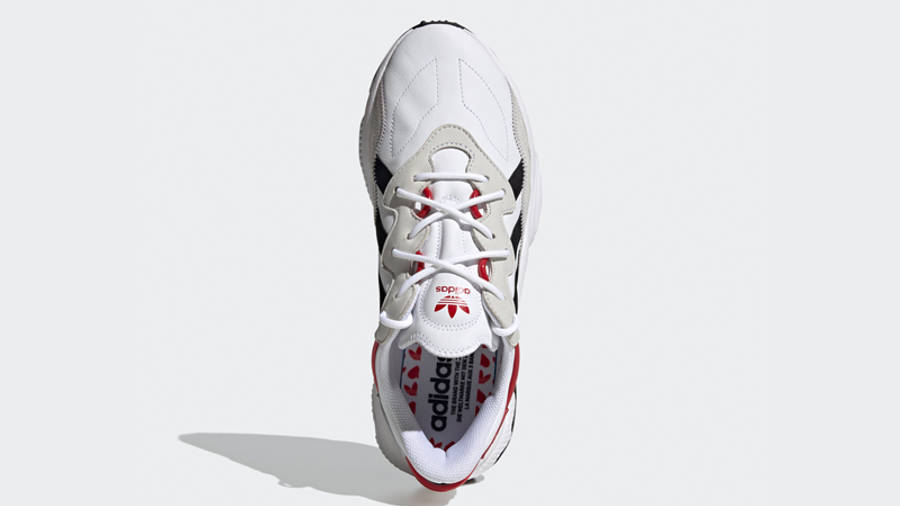 adidas Ozweego Hearts Pack Cloud White Scarlet Middle