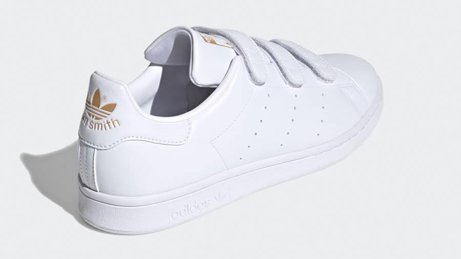 adidas Stan Smith Cloud White Gold Metallic Back