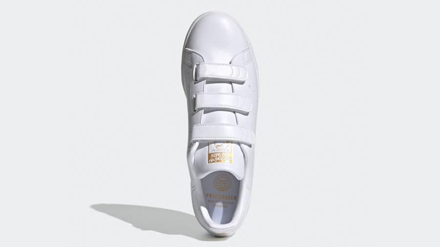 adidas Stan Smith Cloud White Gold Metallic Middle