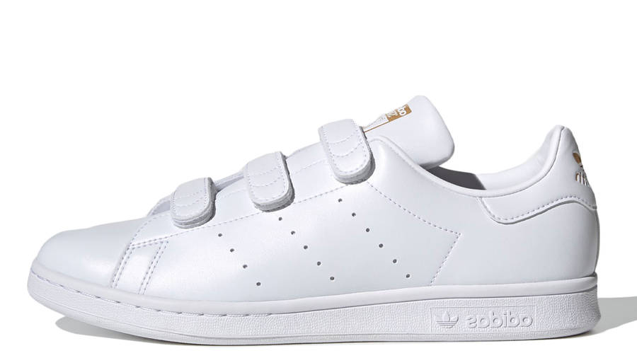 adidas Stan Smith Cloud White Gold Metallic