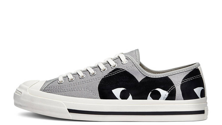 Comme des Garcons Play x Converse Jack Purcell Low Drizzle Black