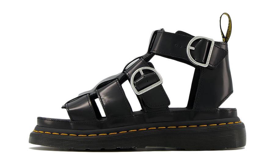 Dr Martens Mackaye Leather Strap Sandals Black