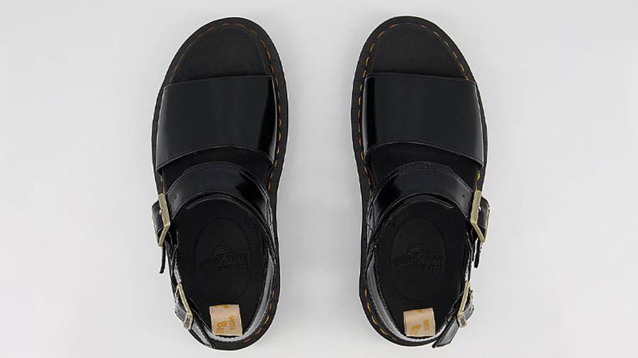 Dr Martens Vegan Voss Sandals Black Middle