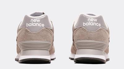 New Balance 574 Grey White Back