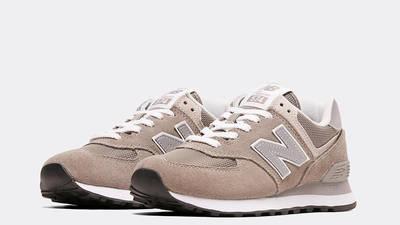 New Balance 574 Grey White Front