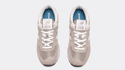 New Balance 574 Grey White Middle