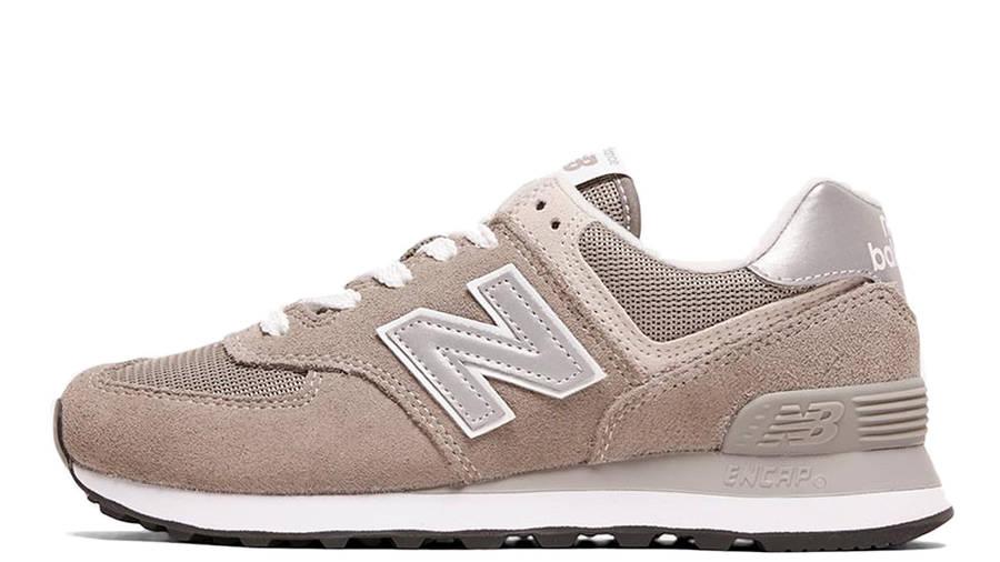 New Balance 574 Grey White