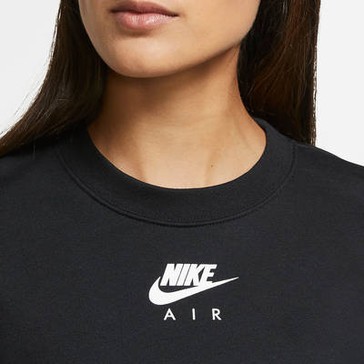 Nike Air Cropped Fleece Crew Sweatshirt CU6584-010 Front