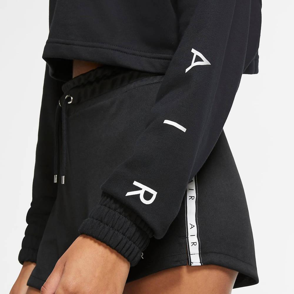 Nike Air Cropped Fleece Crew Sweatshirt CU6584-010 Side