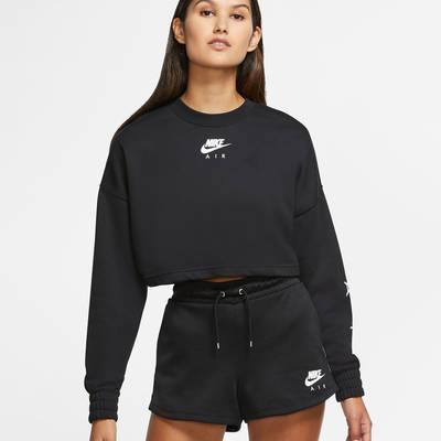 Nike Air Cropped Fleece Crew Sweatshirt CU6584-010