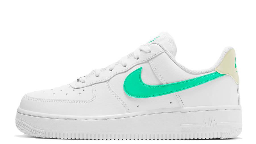 Nike Air Force 1 07 White Green Glow | Where To Buy | 315115-164 ...