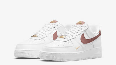 Nike Air Force 1 Low White Rust Pink Front