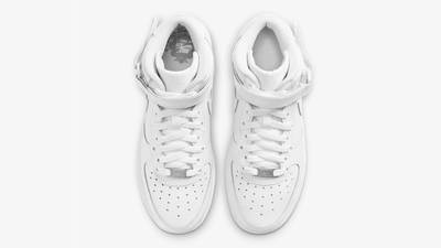 Nike Air Force 1 Mid LE GS White Middle