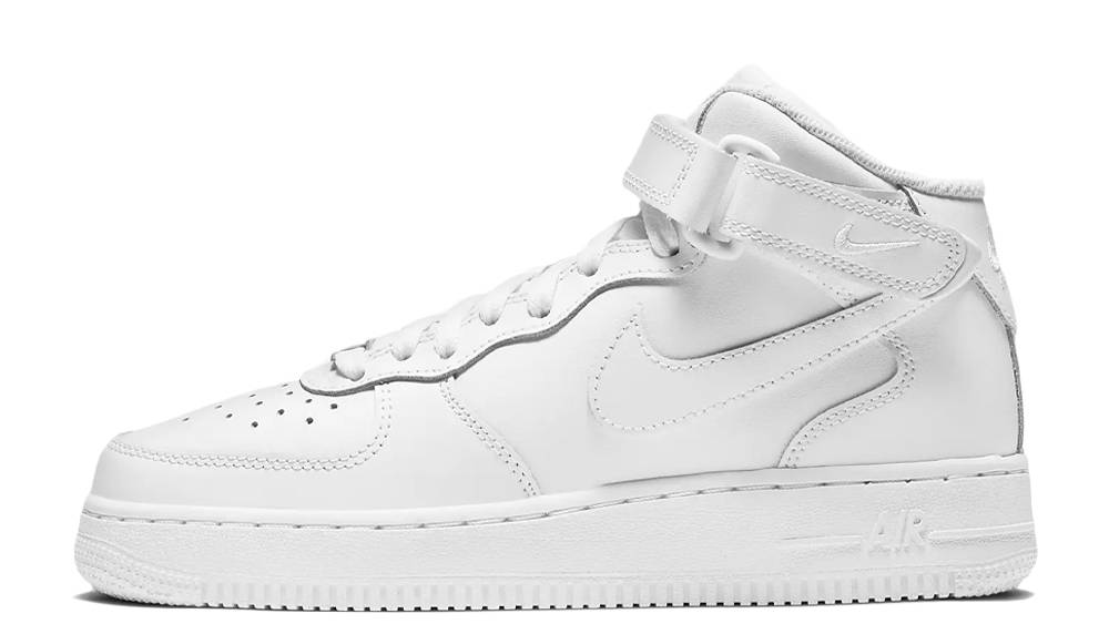 Nike Air Force 1 Mid LE GS White