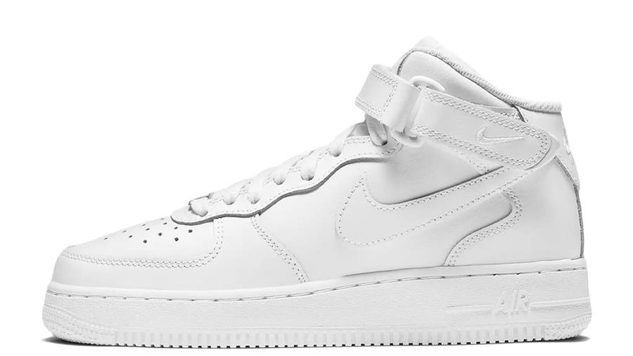 Nike Air Force 1 Mid LE GS White | Where To Buy | DH2933-111 | The ...