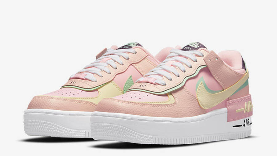 Nike Air Force 1 Shadow Arctic Punch Front