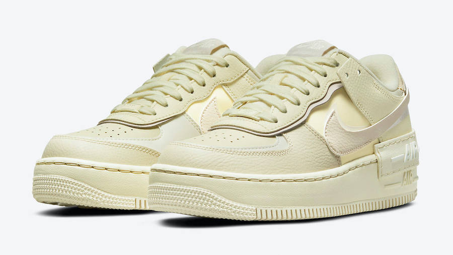 nike air force 1 shadow coconut milk front w900