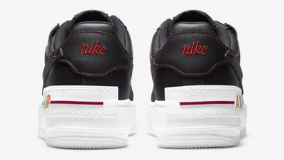Nike Air Force 1 Shadow Multi Stitch Black Back