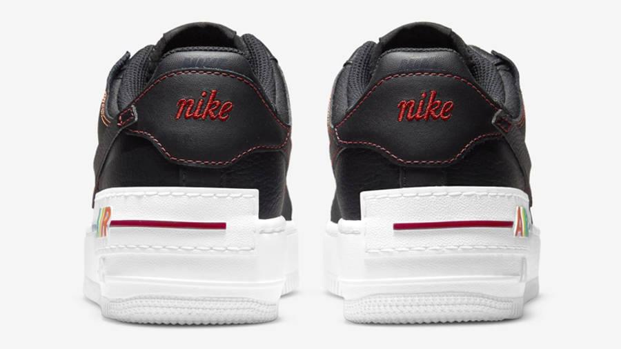nike air force 1 shadow multi stitch black back w900