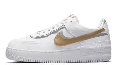Nike air force one supreme Shadow White Metallic Gold