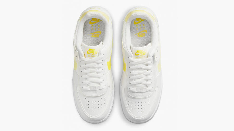 nike air force 1 shadow white yellow middle w900