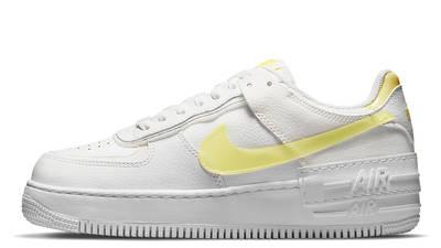 nike air force 1 shadow white yellow w400