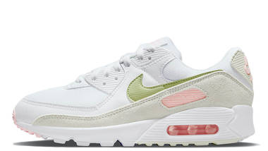 ladies white nike air max 90 trainers