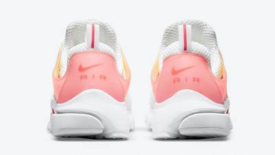 Nike Air Presto White Gradient Red Back