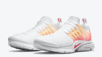 Nike Air Presto White Gradient Red Front