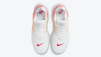 Nike Air Presto White Gradient Red Middle