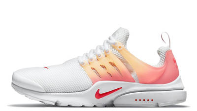 Nike Air Presto White Gradient Red