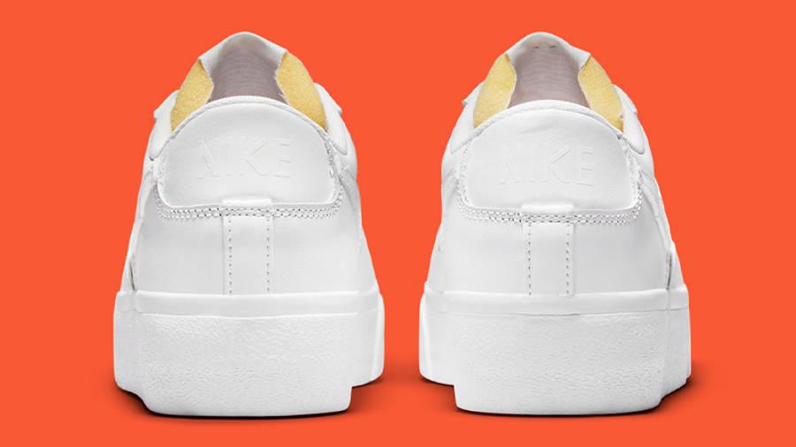 Nike Blazer Low Platform White Back