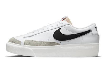 Nike Blazer Low Platform White Black