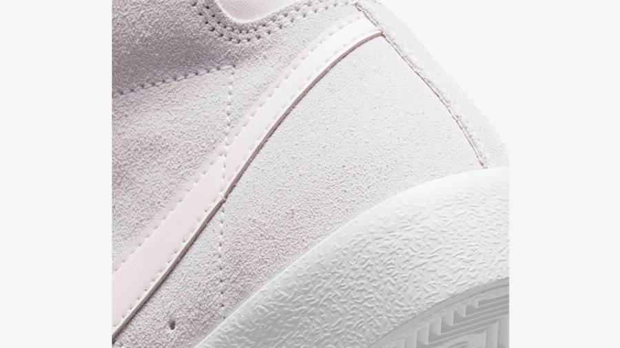 Nike Blazer Mid 77 GS Light Violet Closeup