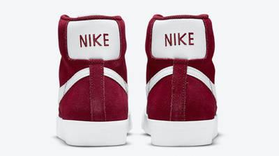 Nike Blazer Mid 77 Suede Team Red Back