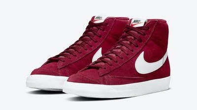 Nike Blazer Mid 77 Suede Team Red Front